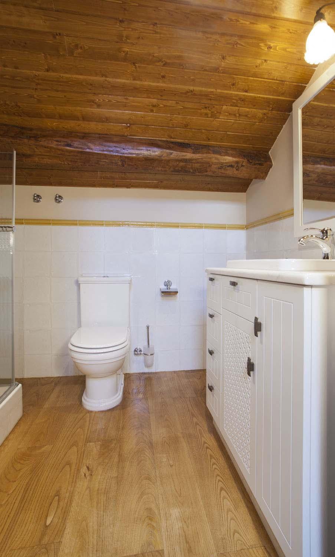 Baño - Apartamento rural La Galería